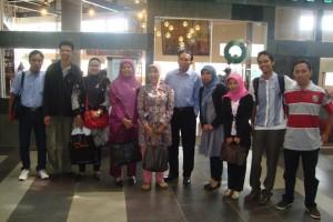 Rapat Koordinasi dengan Universitas Pembina MIA (UI) di Jakarta